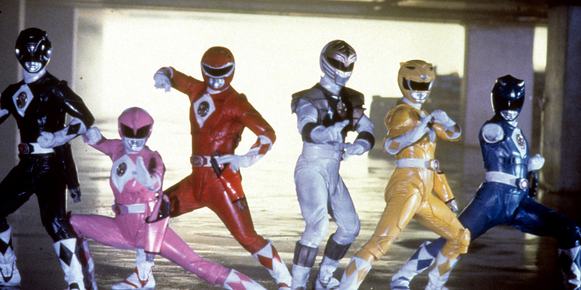 A New Power Rangers Movie Franchise Is In The Works Huffpost