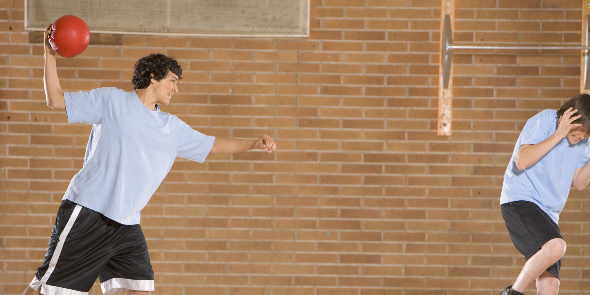 dodgeball   place   schools huffpost