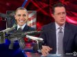 Colbert Does The NRA & Nathan Deal One Better By Suggesting The 'Everywhere Is Guns' Law