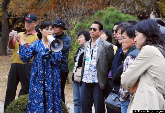 north korea tour guide