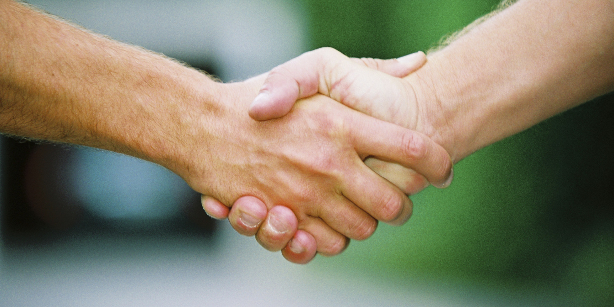 Handshake Grip Can Indicate Person's True Age, Study Finds | HuffPost Business Meeting Handshake