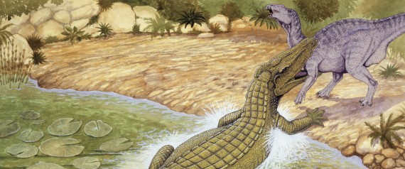 ANCIENT CROCODILES DINOSAURS
