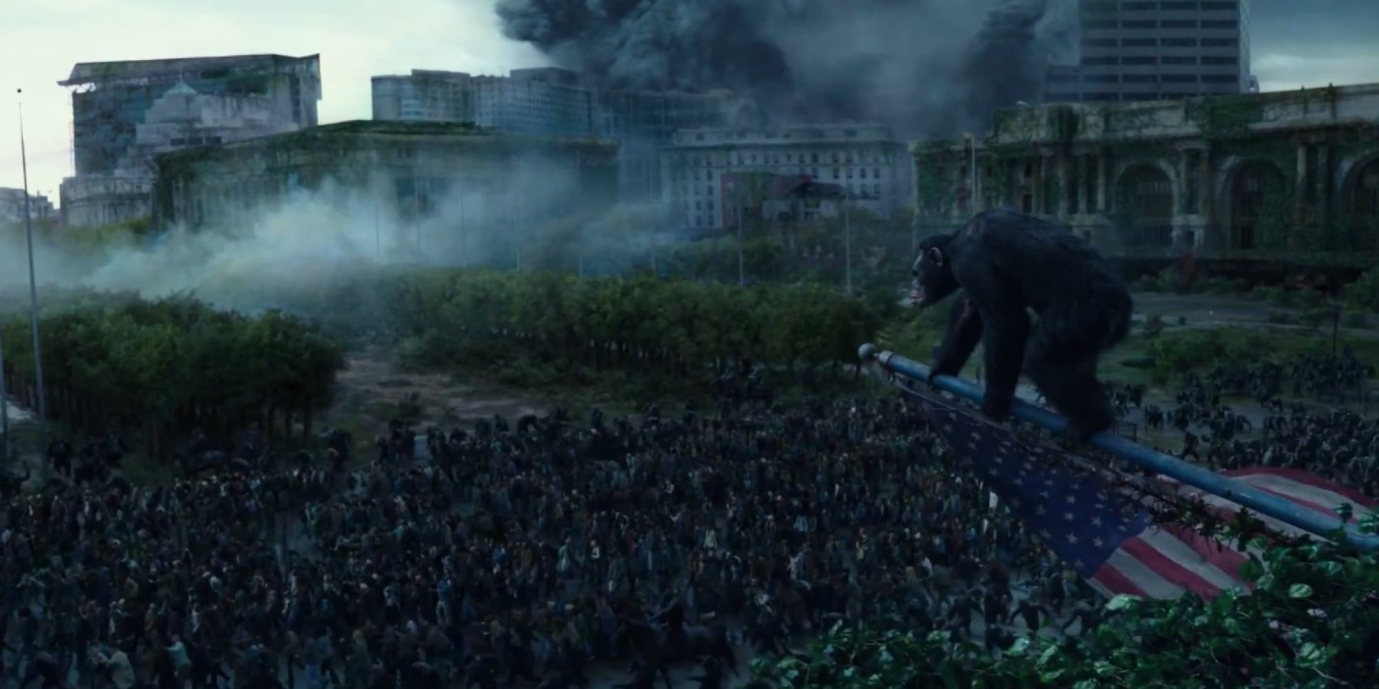 Watch The Full Trailer For 'Dawn Of The Planet Of The Apes'