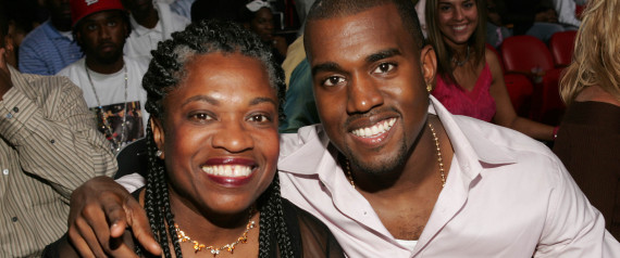KANYE WEST AND MOTHER