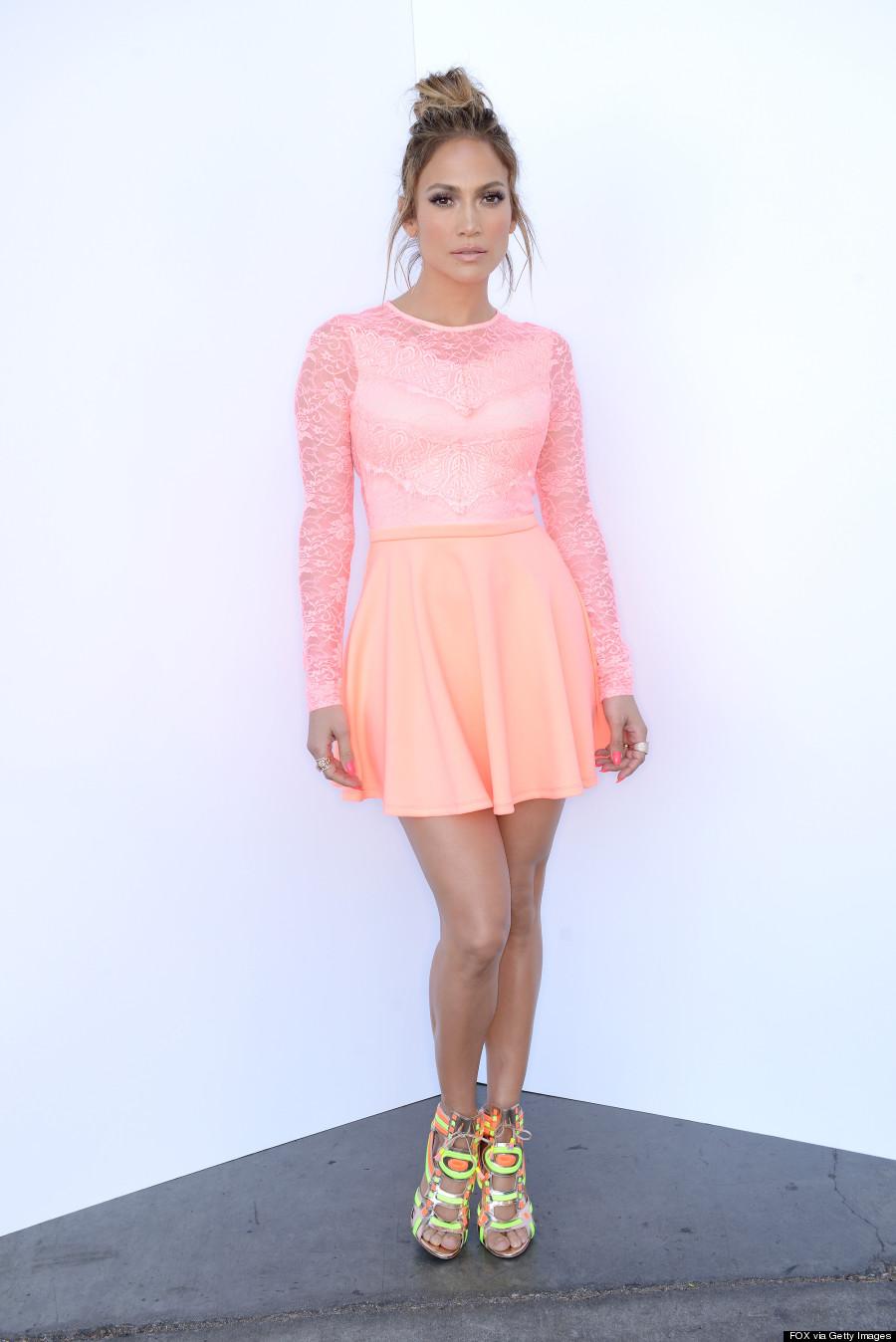 Jennifer Lopez's Pink ASOS Dress Is Her Prettiest Look Ever Jennifer Lopez Dresses