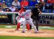 Yasiel Puig Will Flip Bat On Just About Anything (VIDEO)