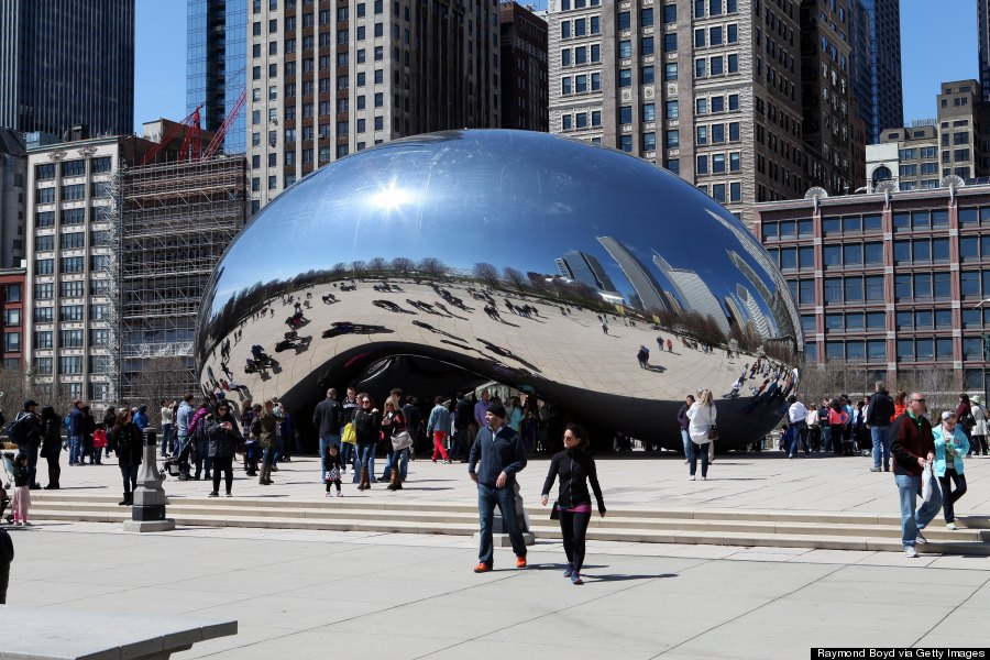 Public Art Projects That Brought Beauty And Design To The StreetsCloud Gate By Anish Kapoor