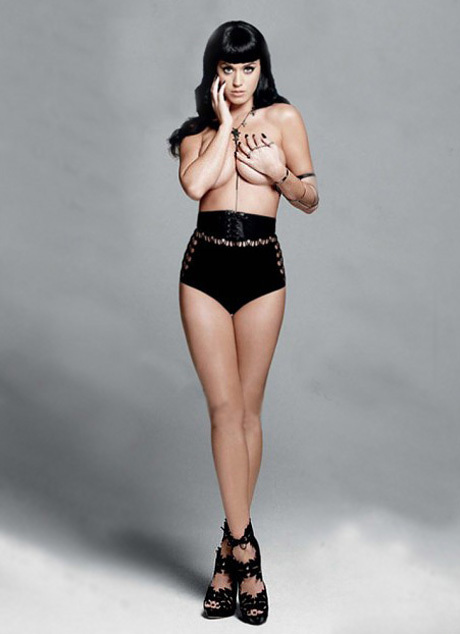 Katy Perry Topless: Strips For Esquire UK (PHOTO)