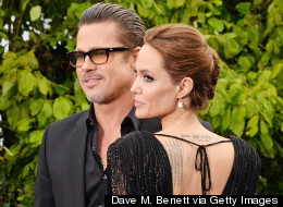Angelina Jolie And Brad Pitt Shine At Maleficent Event In London