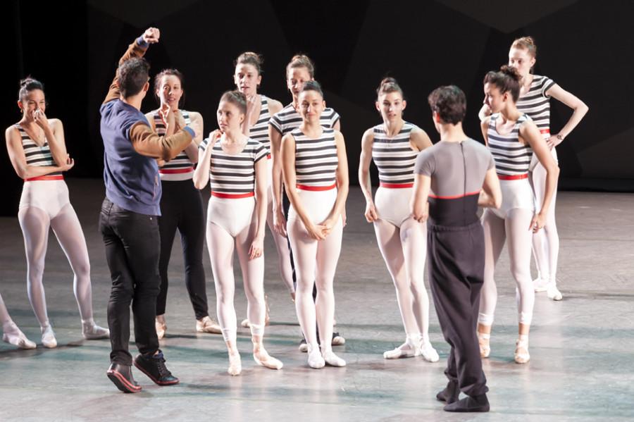 dancers and justin