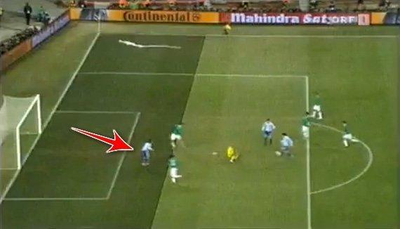 Argentina Offsides Goal