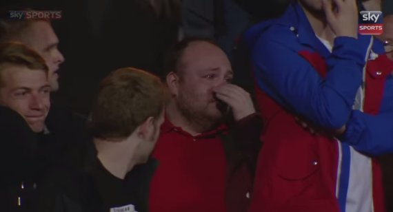 liverpool fan crying