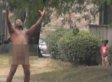 Naked Man On Embalming Fluid Screams 'SURFBOARD' Beyonce Style