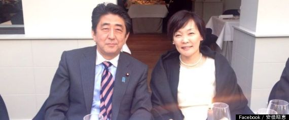 安倍首相と昭恵さん
