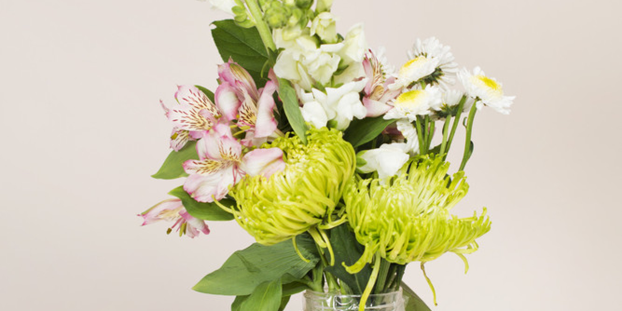 Mothers day cheap flowers latex artificial flower uu single mini pu here are ways anyone can transform cheap grocery store flowers into incredible bouquets huffpost izmirmasajfo