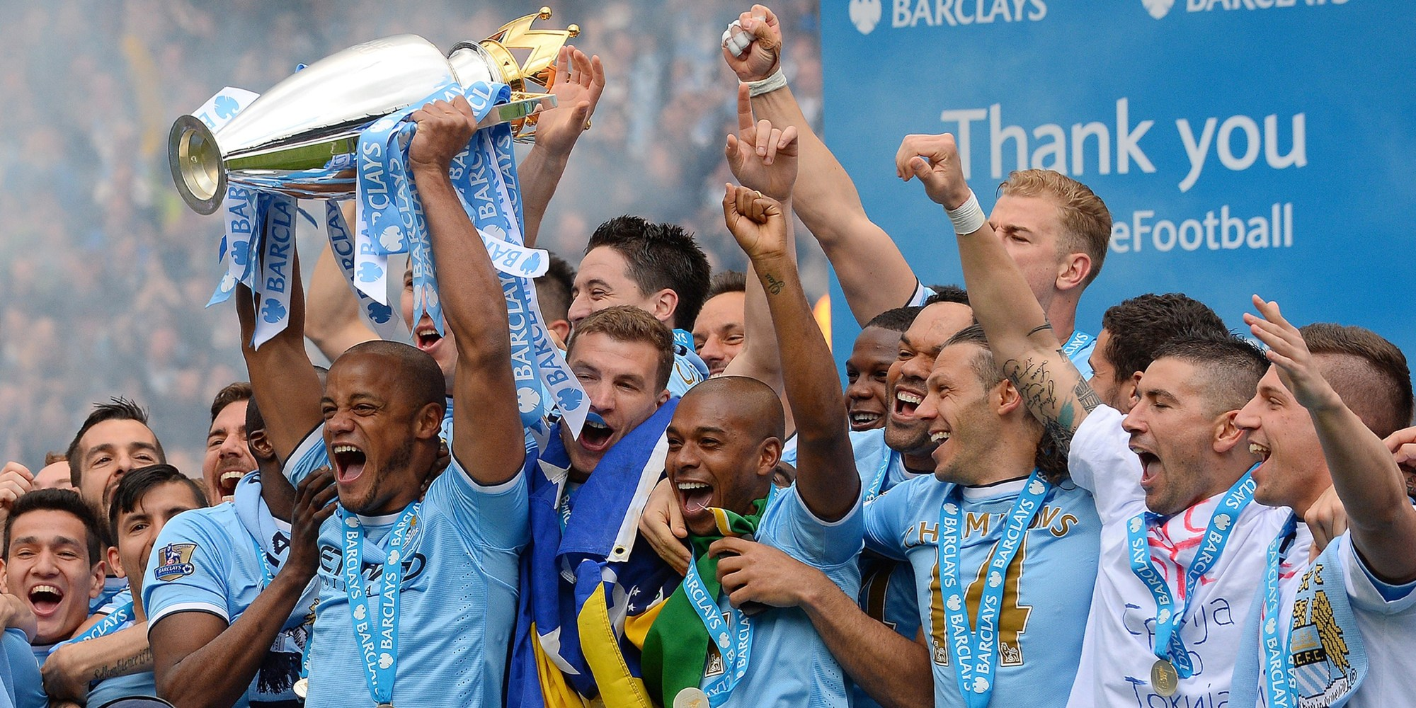 Champion Premier League 2013/2014 : Manchester City FC