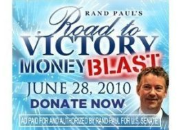 Rand Paul Internet Fundraising