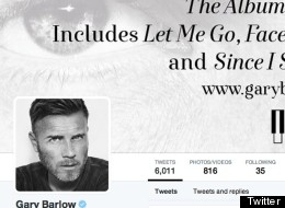 Gary Barlow's Twitter Account Hacked With Vile Message