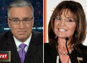 Olbermann Palin
