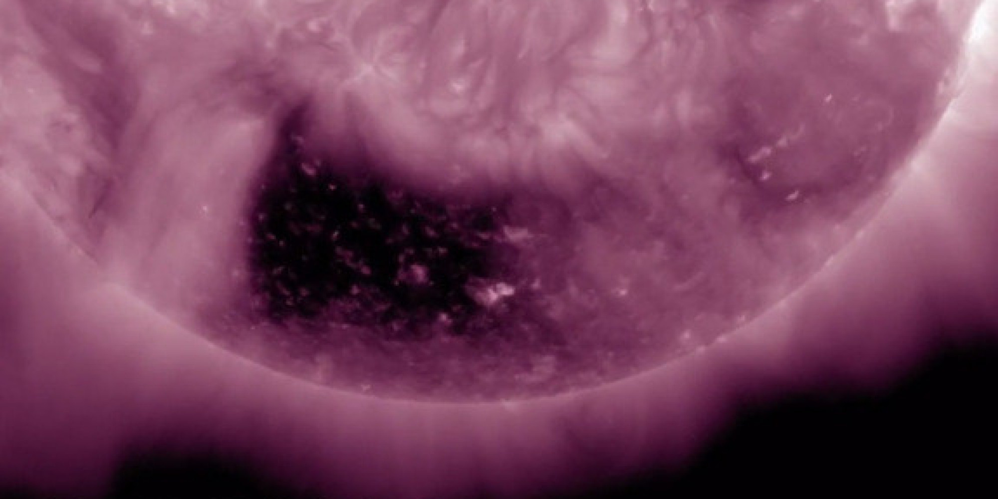 Square Hole In Sun Spotted By Nasa Spacecraft Video
