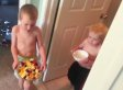Mother's Day Breakfast In Bed Didn't Quite Go As Planned For These Two Boys
