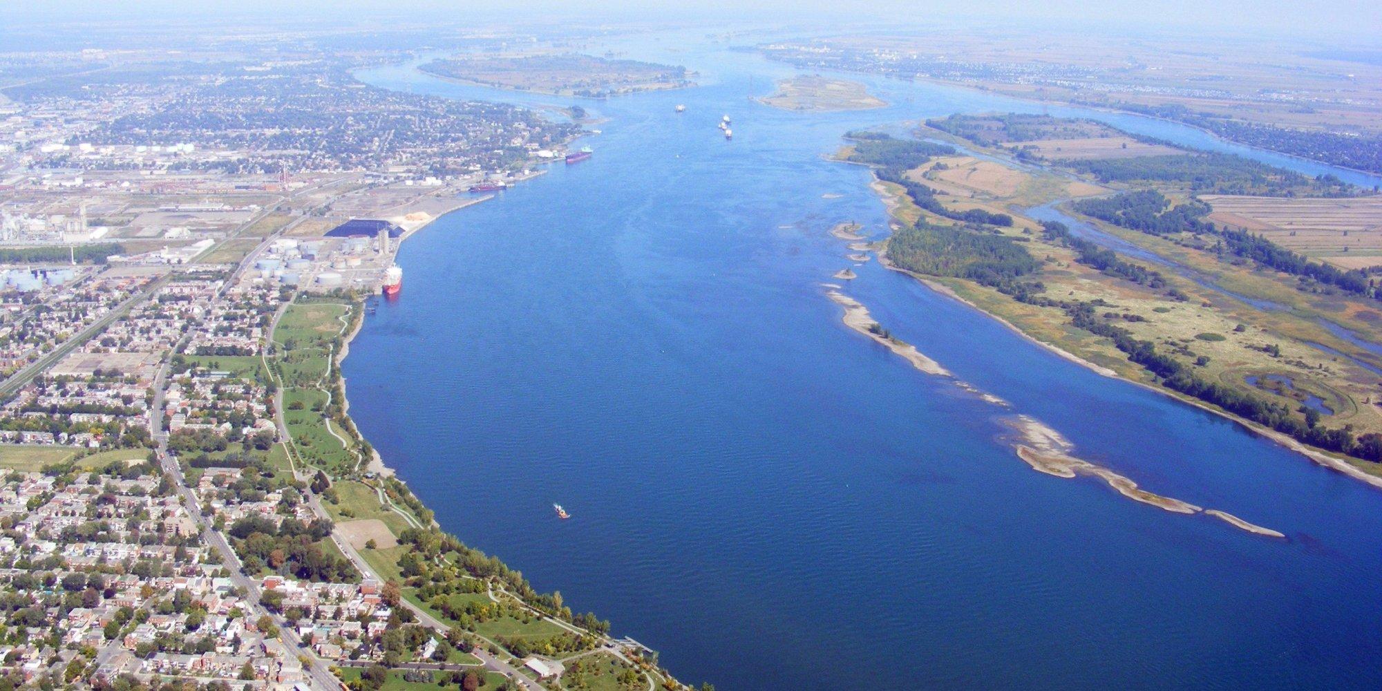 Saint-Laurent (QC) Canada  City new picture : ... usées seront déversés dans le fleuve Saint Laurent à Montréal