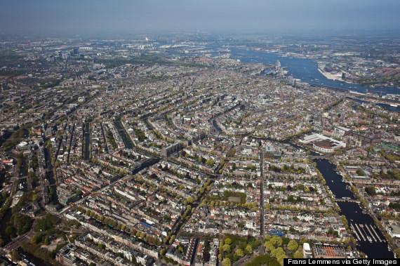 amsterdam aerial