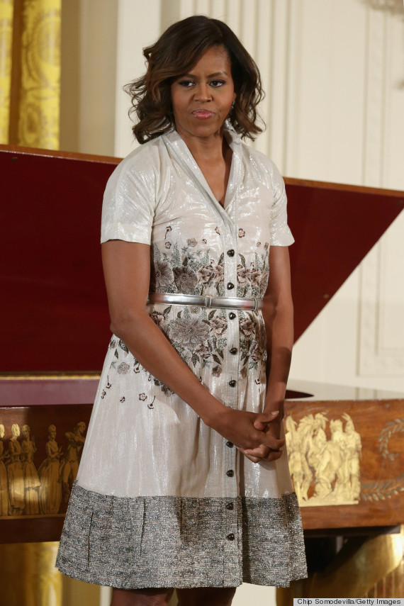 Michelle Obama Is The Stylish Hostess With The Mostess At -6893