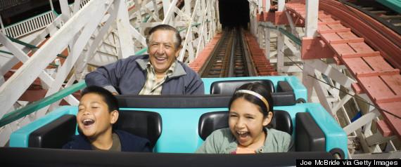kids roller coasters grandparents