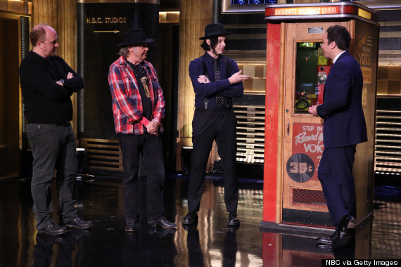 neil young jack white jimmy fallon