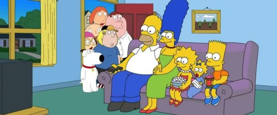 FAMILY GUY THE SIMPSONS CROSSOVER