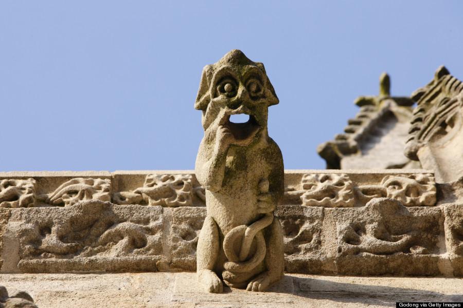 church gargoyle