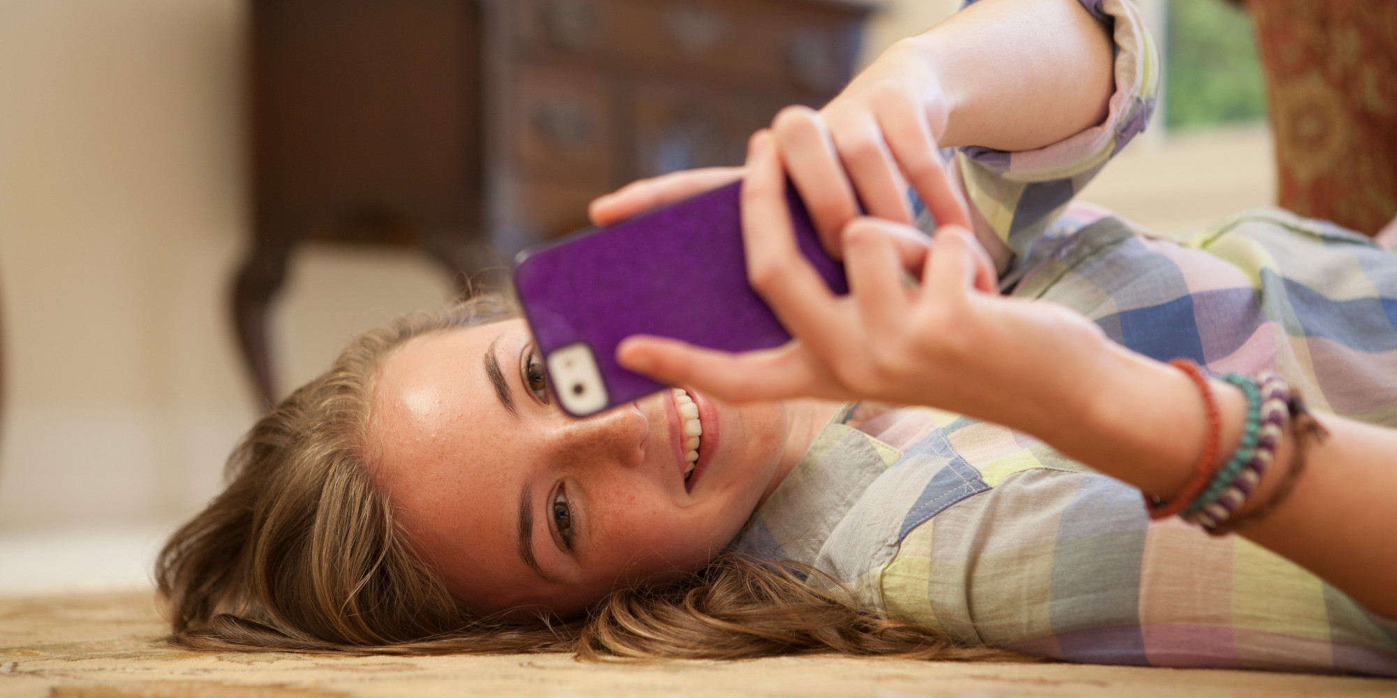 Image result for girl using smartphone