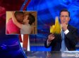 Colbert Responds To Michael Sam's Kiss, Throws A Penalty Flag For 'Unnecessary Tenderness'