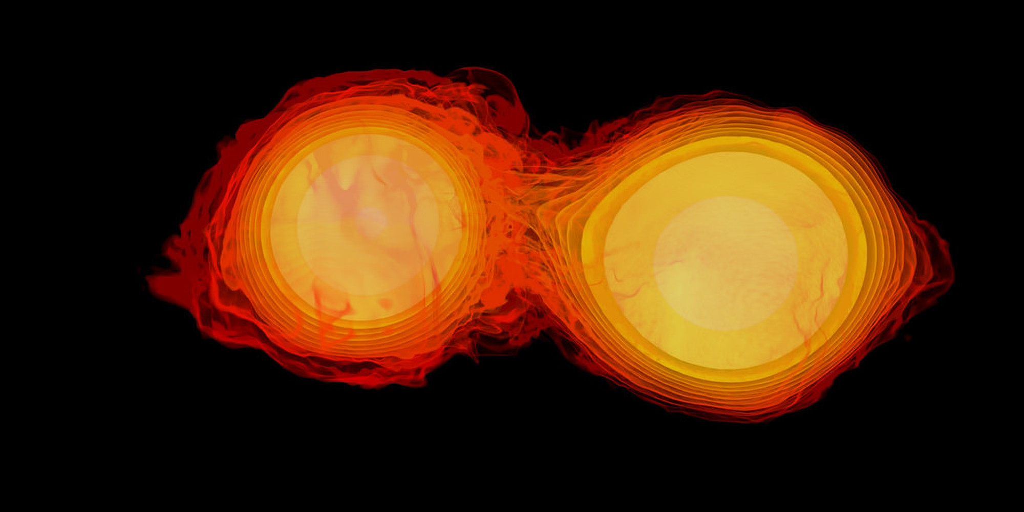 Awesome NASA Animation Shows Neutron Stars Ripping Each ...