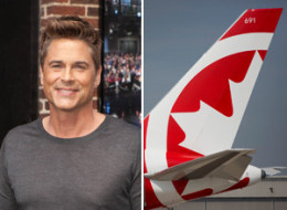 Rob Lowe Air Canada Rouge