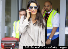 George Clooney's Fiancee Flashes HUGE Engagement Ring