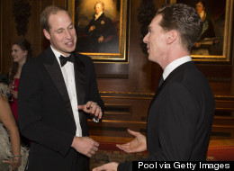 Pics: Benedict Rubs Shoulders With Royalty