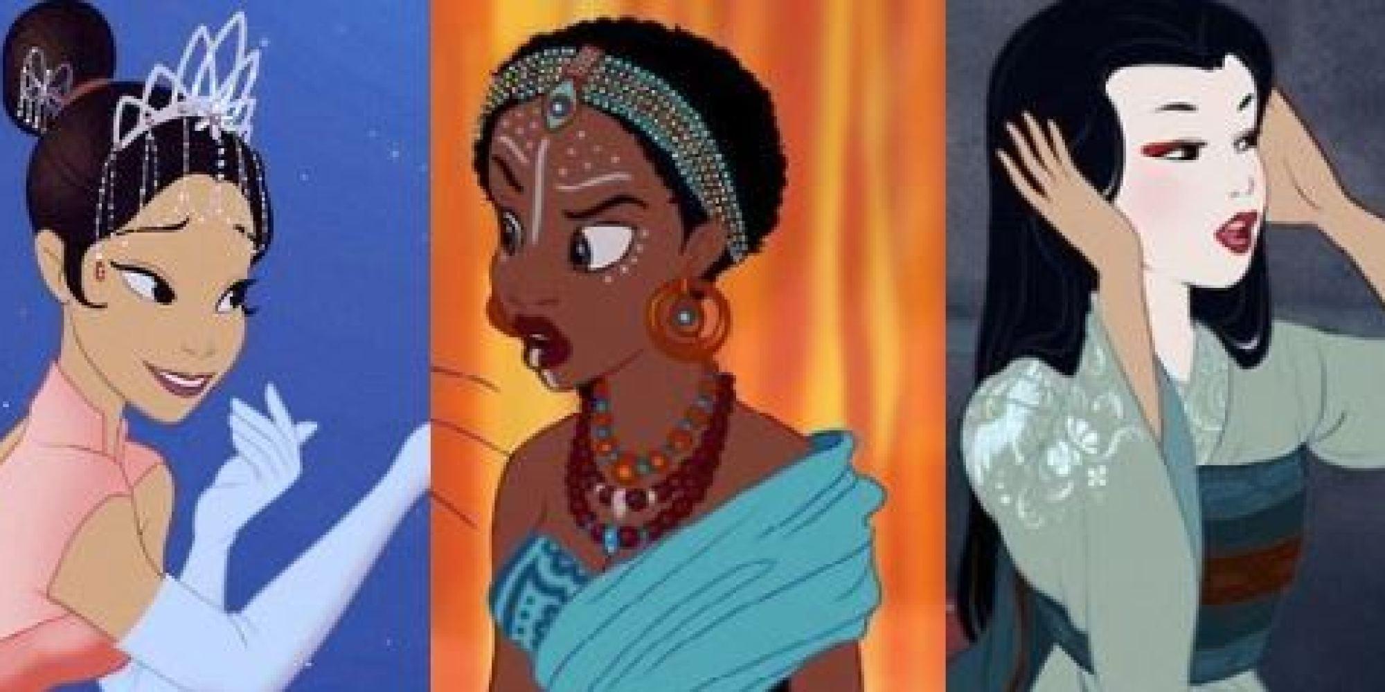 Photos les princesses disney changent de couleur de peau - Image de princesse disney ...
