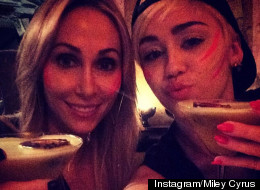 Miley Cyrus Throws Her Mum A Wild Birthday Bash