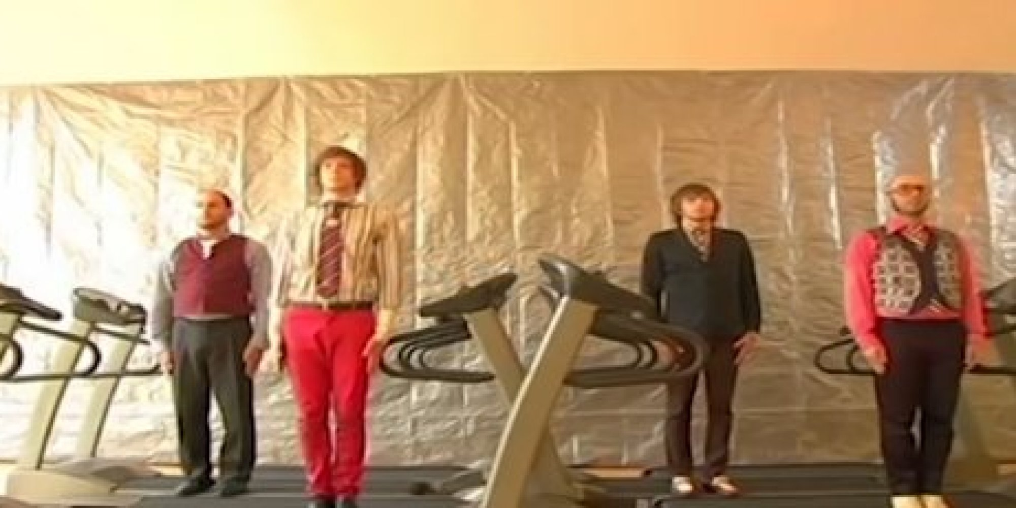 WATCH: OK Go's 'Here It Goes Again' Music Video - Without The Mus...