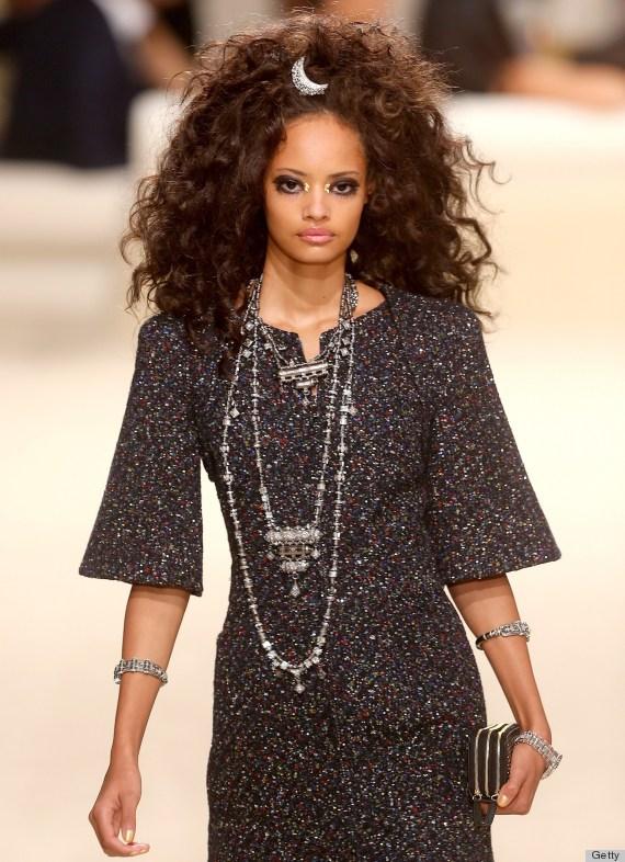 Curly Hair Fashion Show