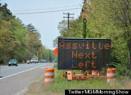 Road Sign Of The Day