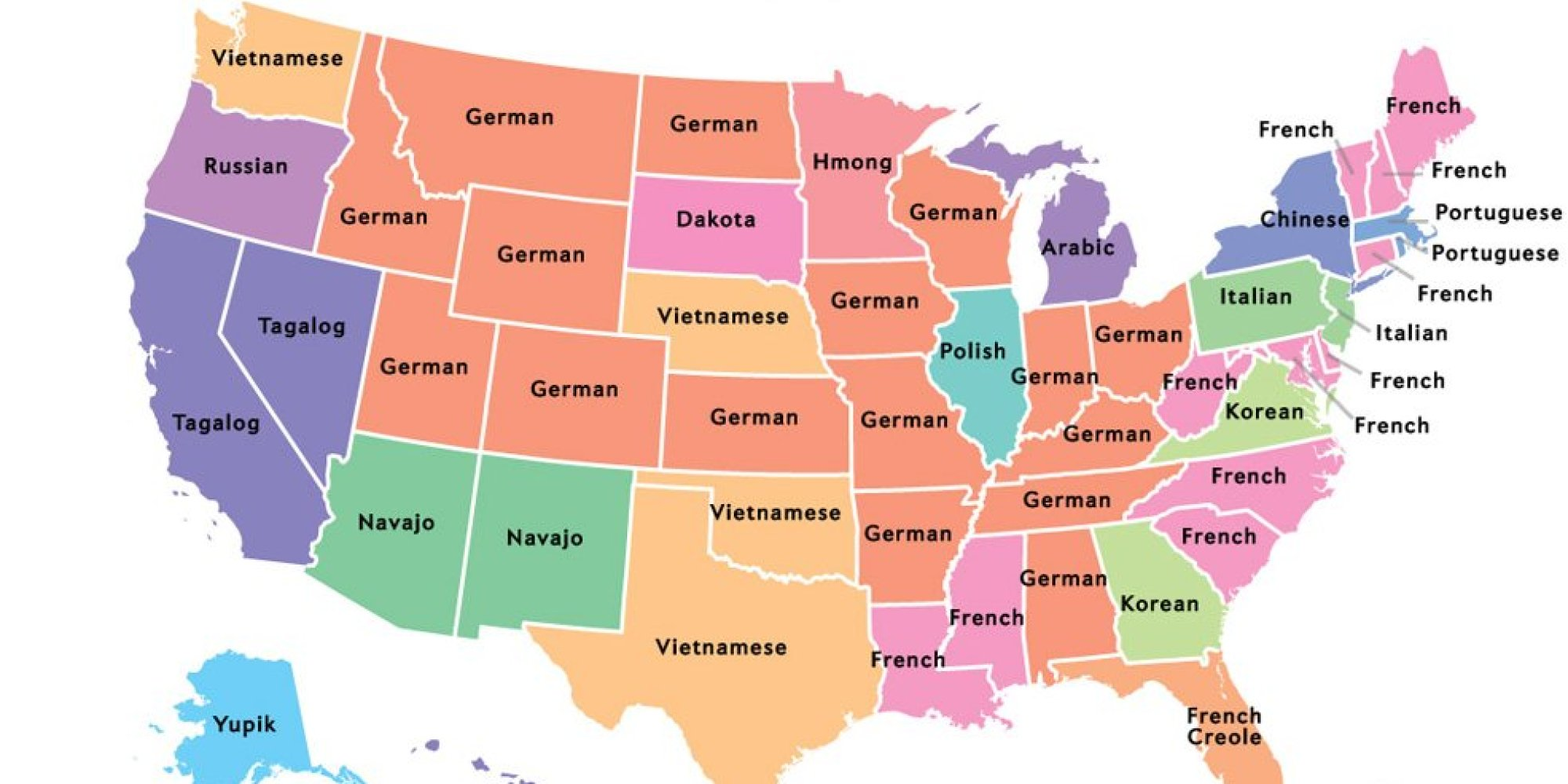 Bundesstaaten Usa Karte.Die Bundesstaaten Der Usa Karte Creactie