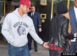 Cheeky... Lady Gaga's Boyfriend Grabs A Feel