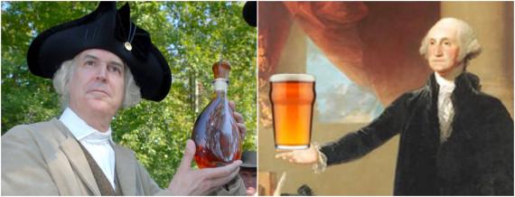 george washington alcohol