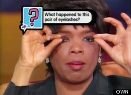 The Time Oprah Popped Off Her Fake Eyelashes On TV