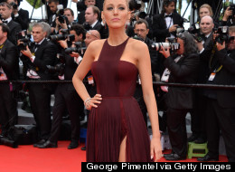 Blake Lively Leg Bombs At Cannes