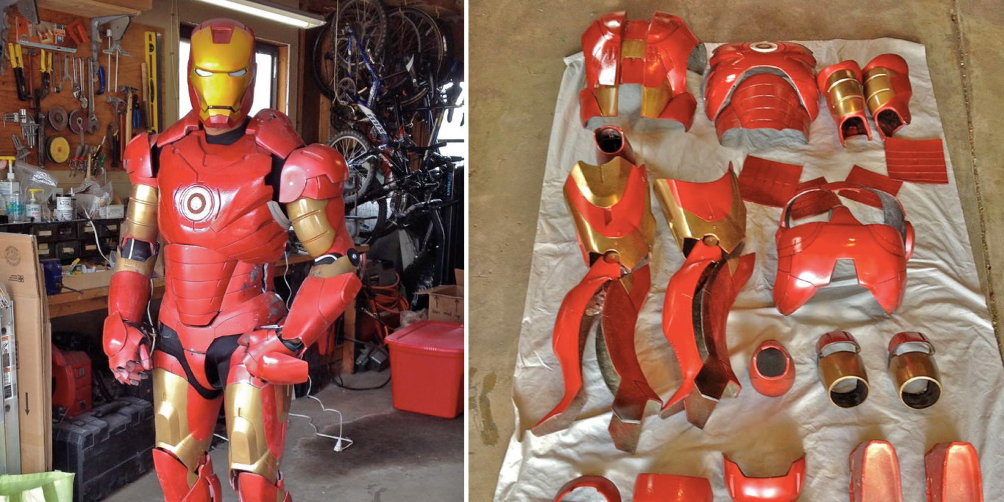 Как сделать железного человека Чертежи костюма железного 100