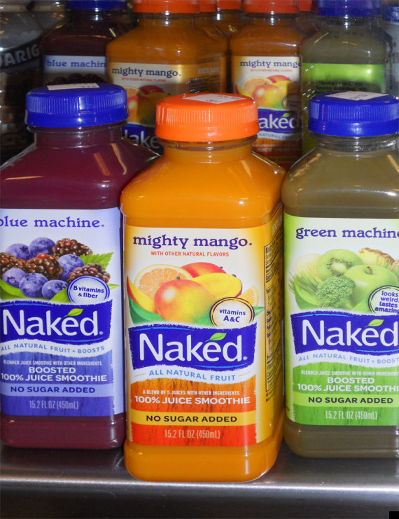 naked juice bottle